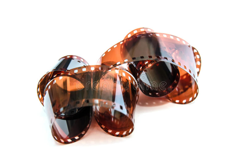 Heap of 35 mm film stock images