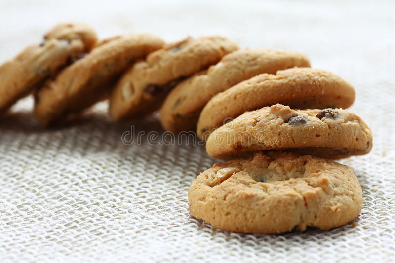 Download Heap od delicious cookies stock photo. Image of hazelnuts - 26136320