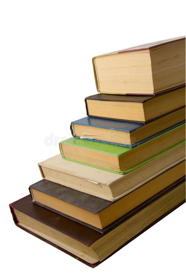 Heap of old books royalty free stock photography