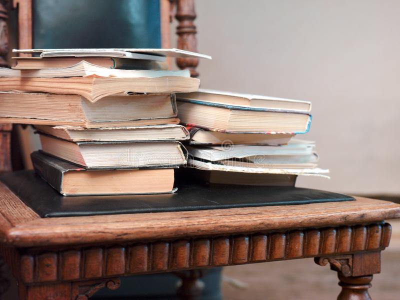 Heap Of Old Books royalty free stock photo