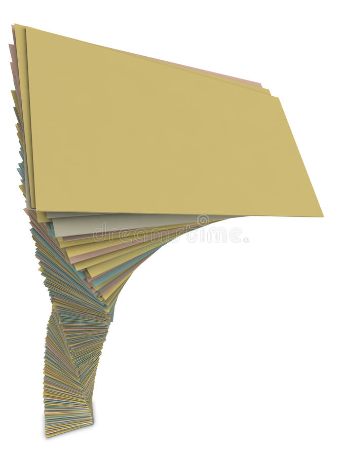 Download Heap Of Papers Royalty Free Stock Photo - Image: 14307435