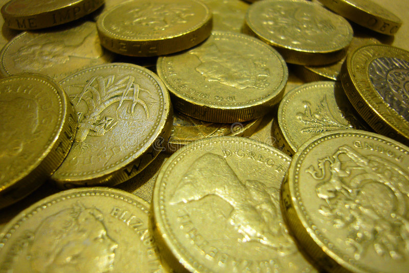 Download A heap of pounds stock image. Image of dingle, coins, sterling - 2891273