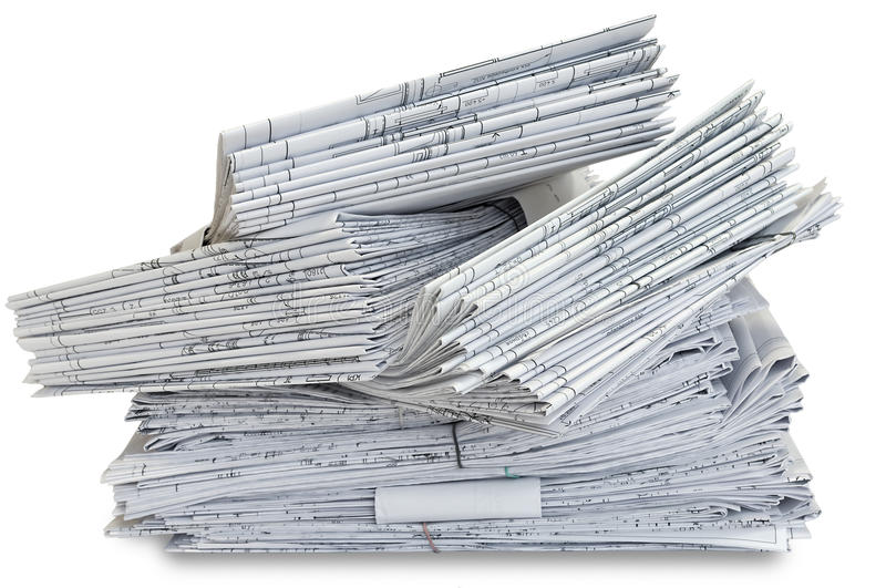 Heap of project drawings royalty free stock images