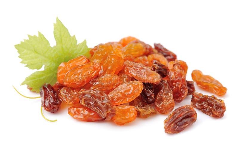 Heap of raisin stock photography
