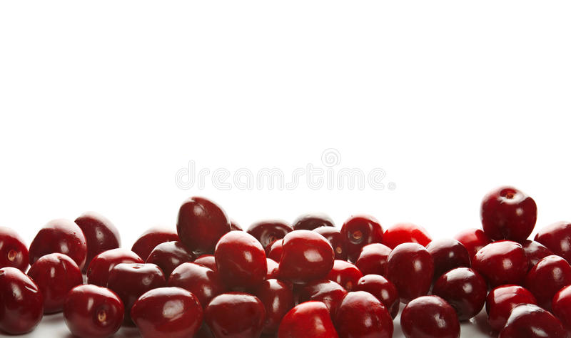 Download Heap of sweet cherries stock photo. Image of ripe, background - 27549442