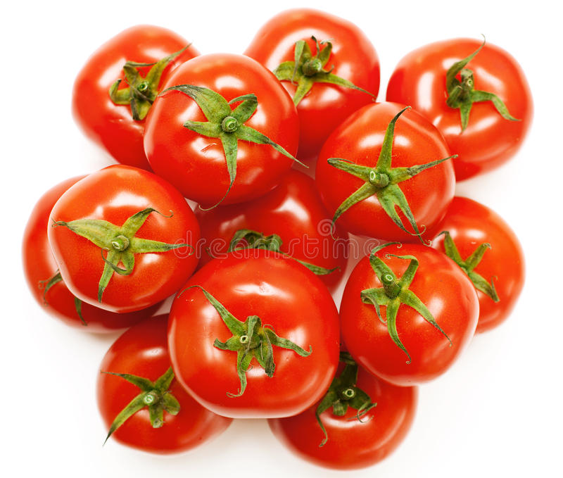 Download Heap of tomatoes stock photo. Image of food, leaf, background - 19551206