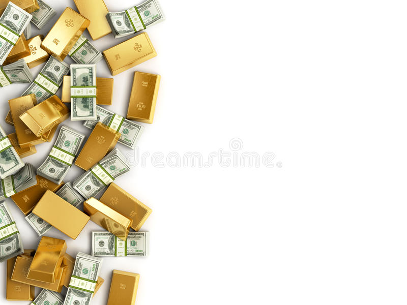 Heap of Treasure. stock illustration