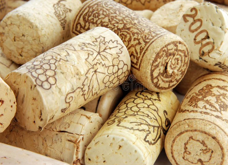 Download Heap of wine corks stock image. Image of materials, collection - 14108087