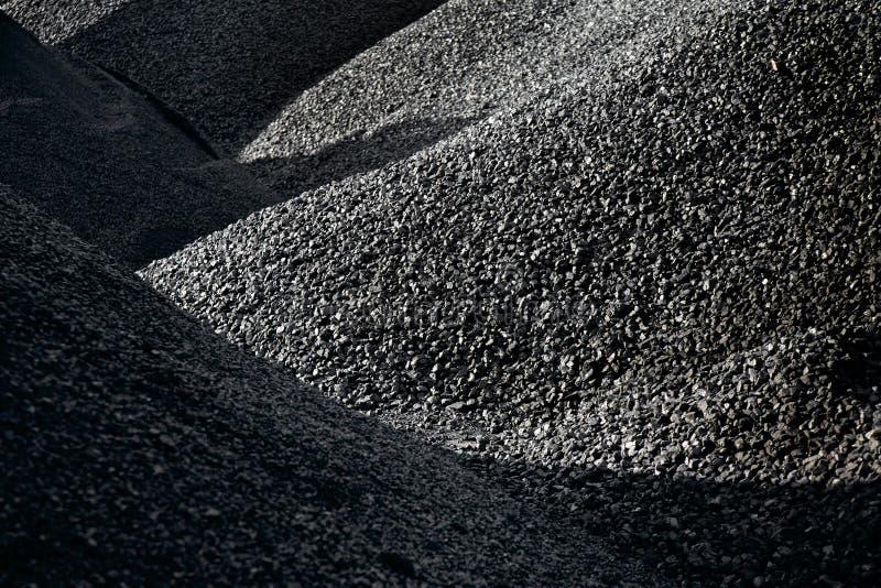 Heaps of coal royalty free stock image