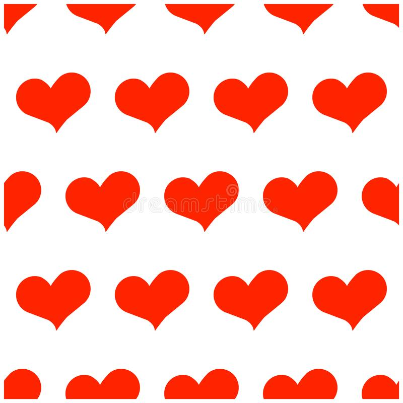 Heard red pattern vector romantic stock photos