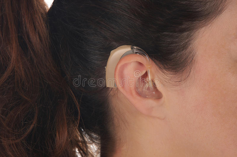 Download Hearing Aid stock image. Image of object, handicapped - 10647765