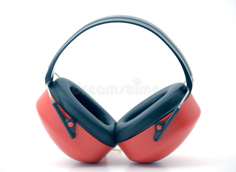 Hearing Protectors stock photography