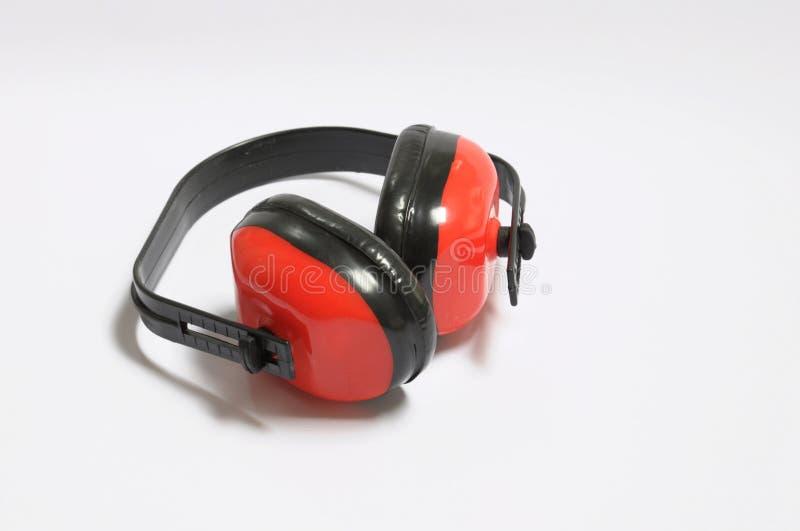 hearingskydd arkivbild