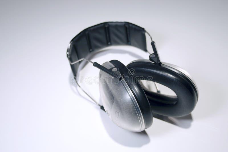 hearingskydd fotografering för bildbyråer