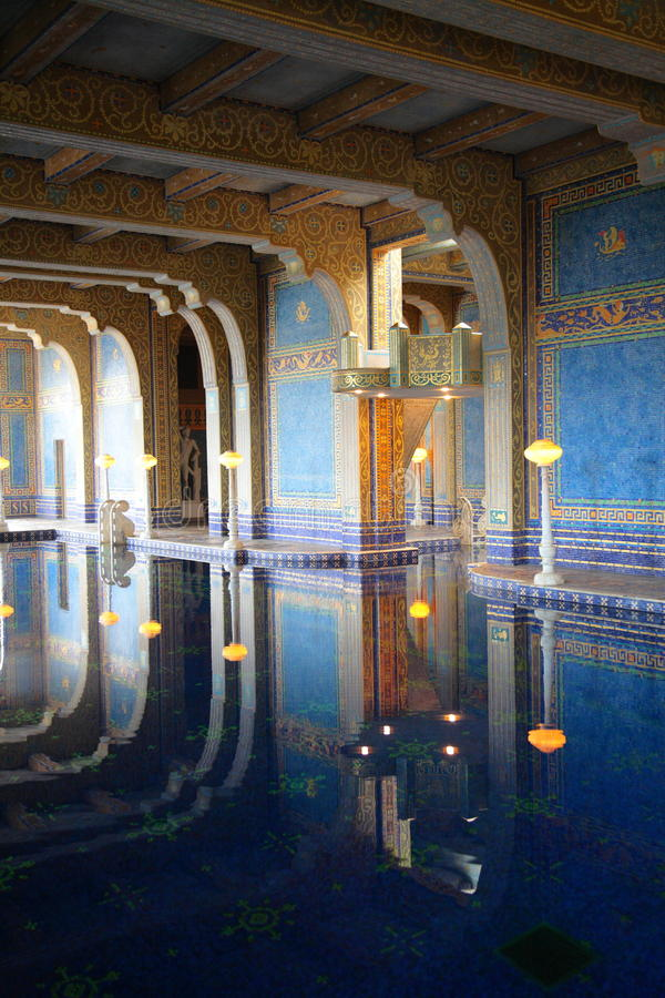 Hearst Castle Luxurious Pool Editorial Photography