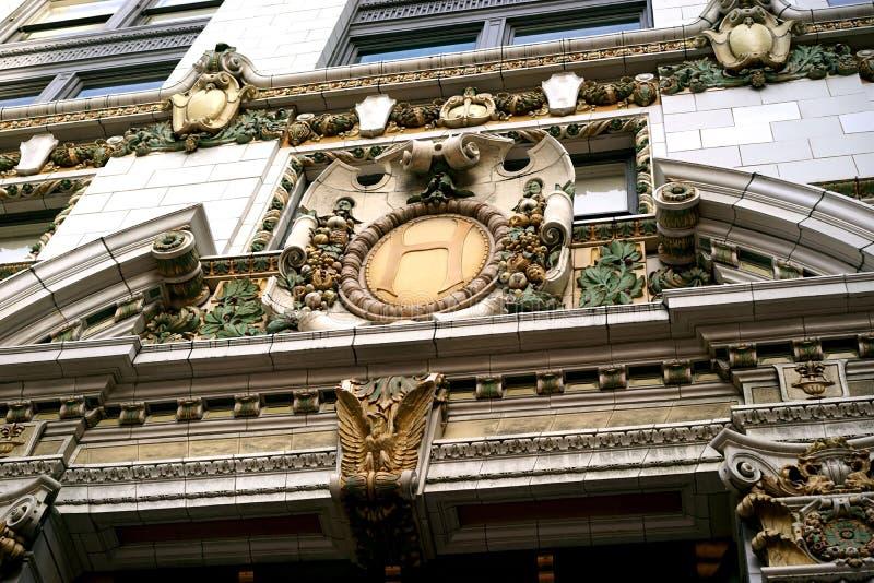 Hearst gazetowy budynek - dziejowy piękno zdjęcie royalty free