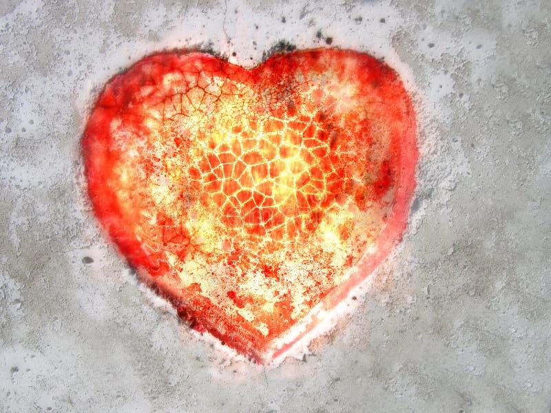 Download Heart stock photo. Image of asphalt, burning, lava, fiery - 1576