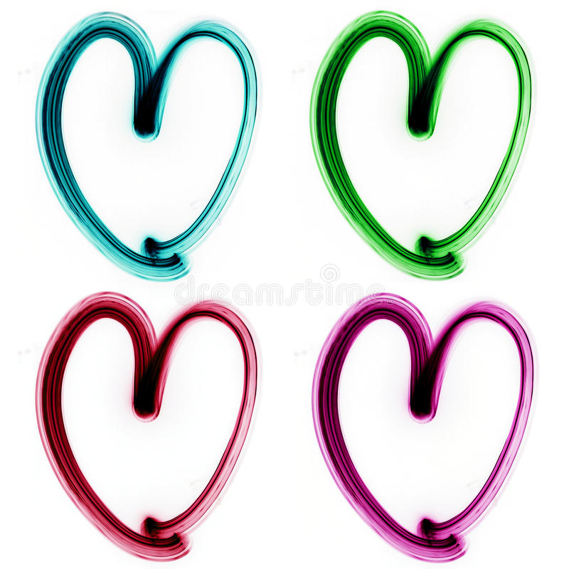 Download Heart stock illustration. Image of marriage, desire, light - 12356862