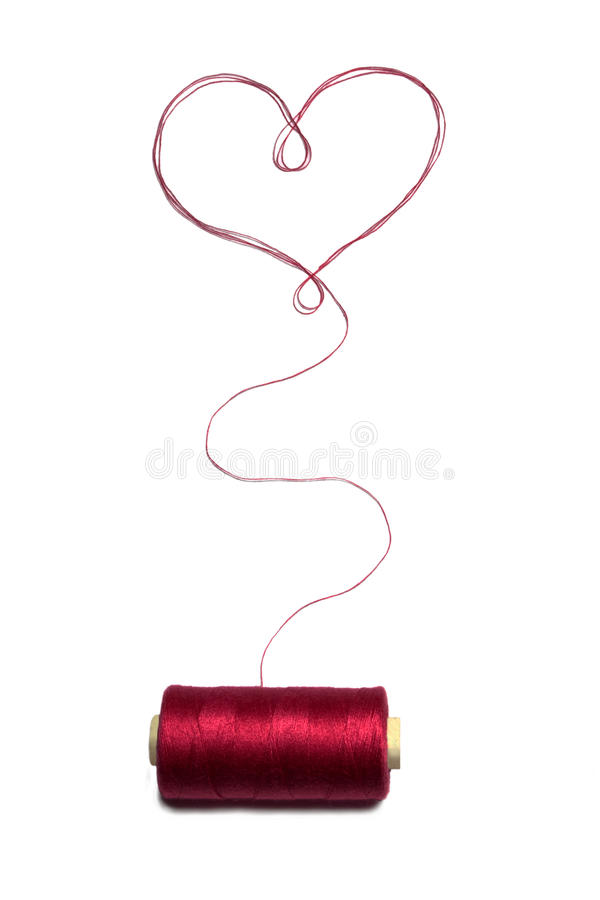 Download Heart stock image. Image of fibers, hobby, cord, colored - 14856971