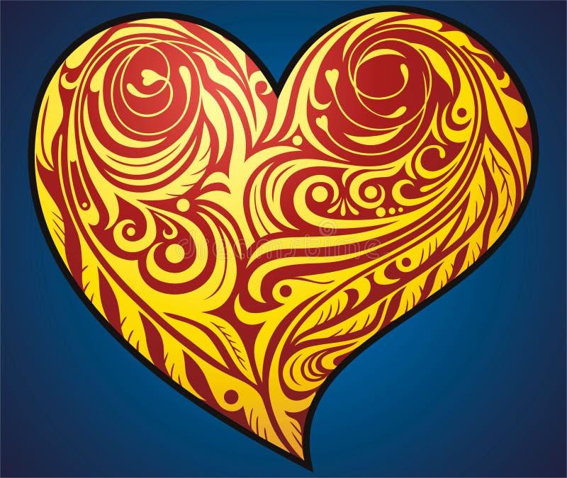Download Heart stock vector. Image of celebration, retro, heart - 16406051