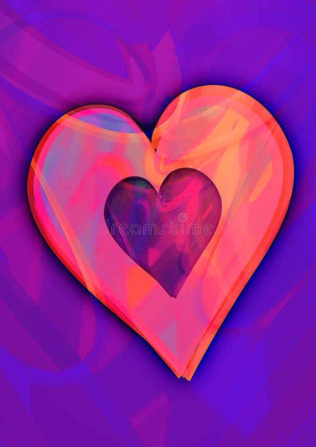 Download Heart stock illustration. Illustration of painting, love - 1657321