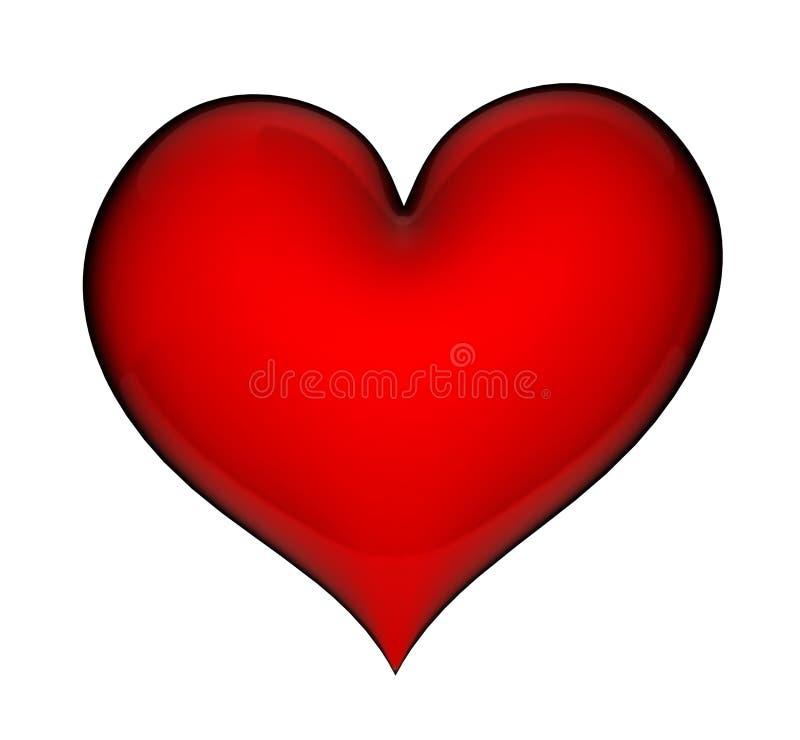 Download Heart stock illustration. Illustration of emotion, icon - 17976632