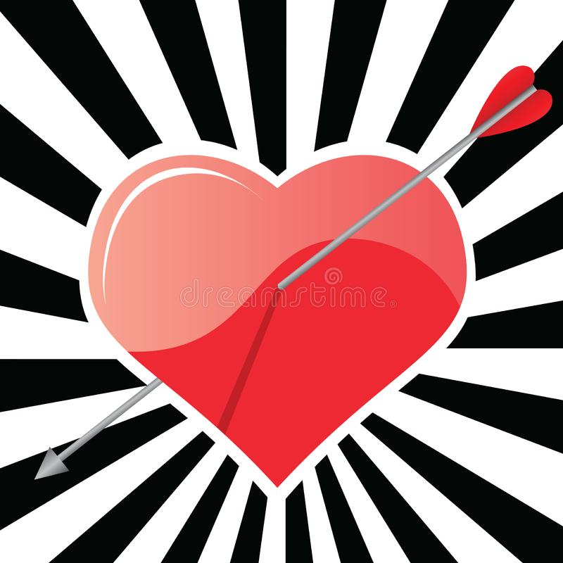 Download Heart stock vector. Illustration of love, heart, engage - 18666630