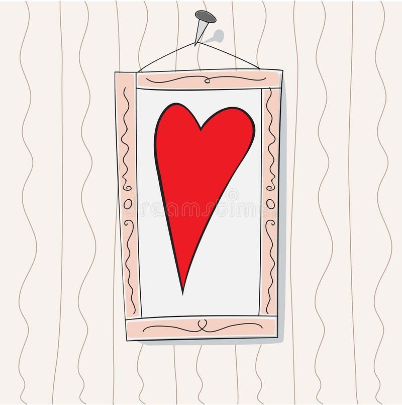 The Heart vector illustration