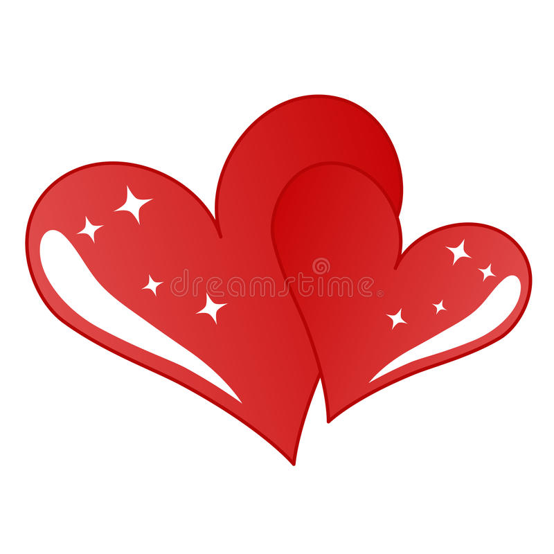 Download Heart stock vector. Illustration of glossy, holiday, passion - 23486449