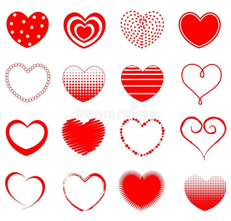 Download Heart stock vector. Illustration of hearts, brush, artwork - 24222930