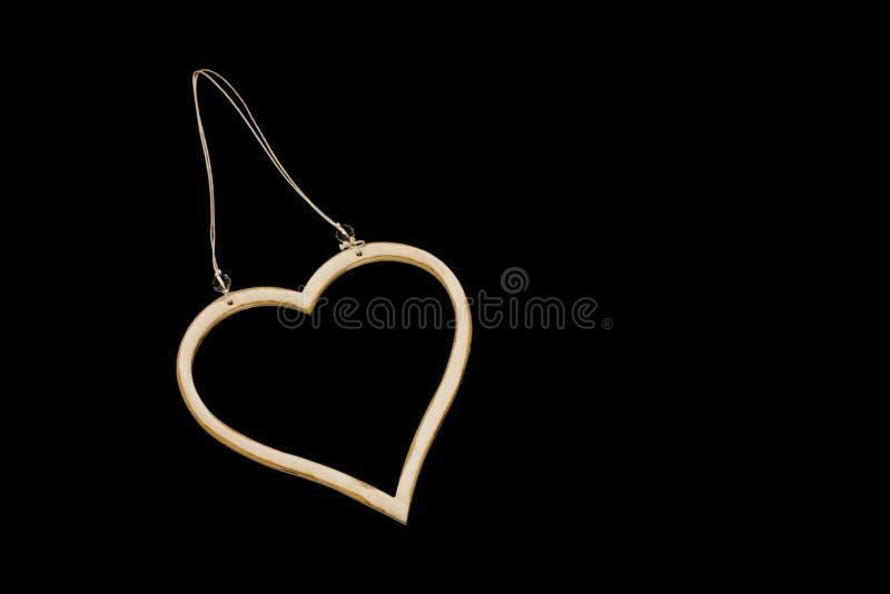 Download Heart on black background stock image. Image of framed - 24454383