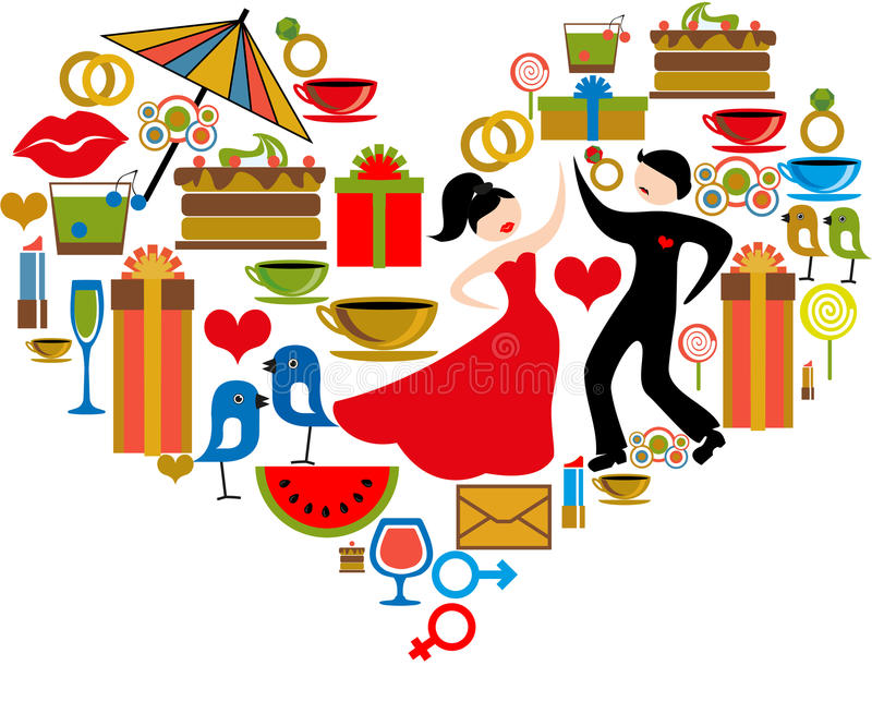 Download Heart stock vector. Image of music, package, cocktail - 28646968