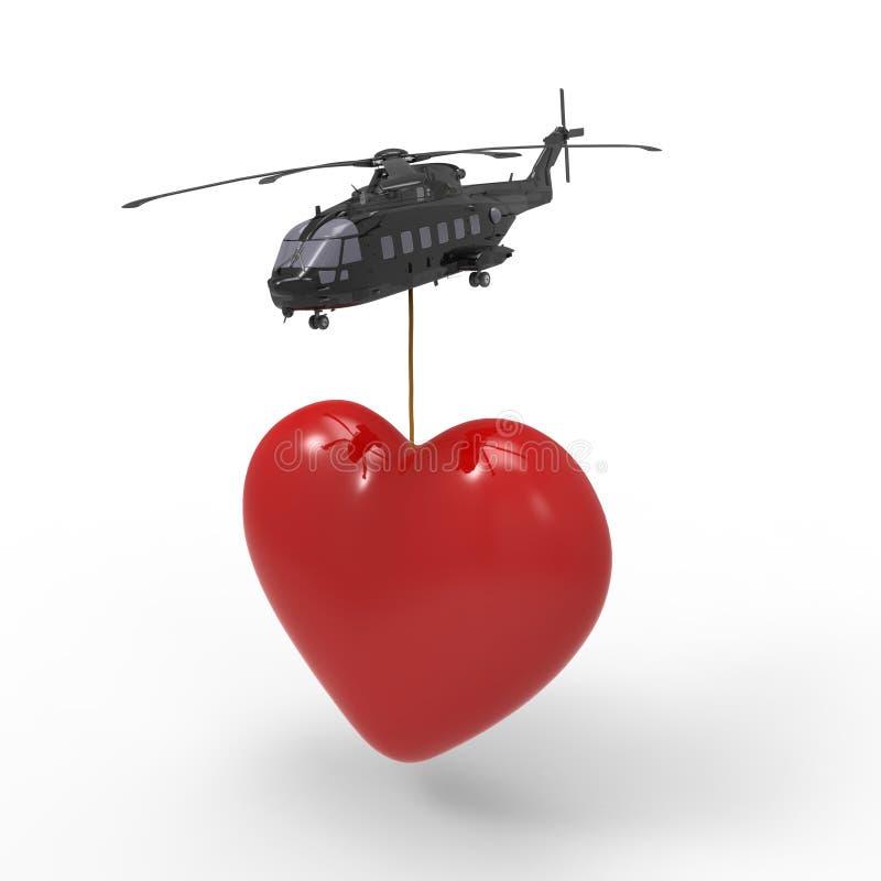 Download Heart stock illustration. Illustration of isolated, loving - 28858838