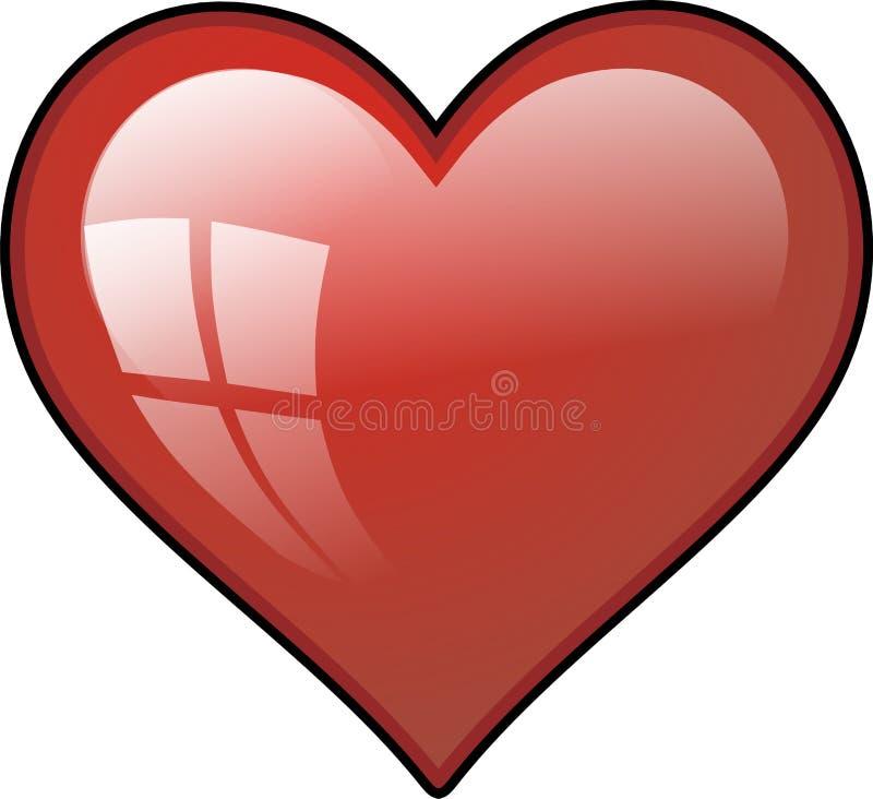 Download Heart stock illustration. Illustration of sweet, draw - 3208858