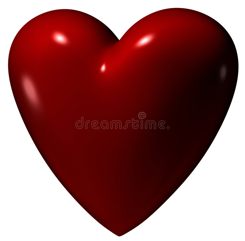 Download Heart stock illustration. Image of valentine, abstract - 5555789