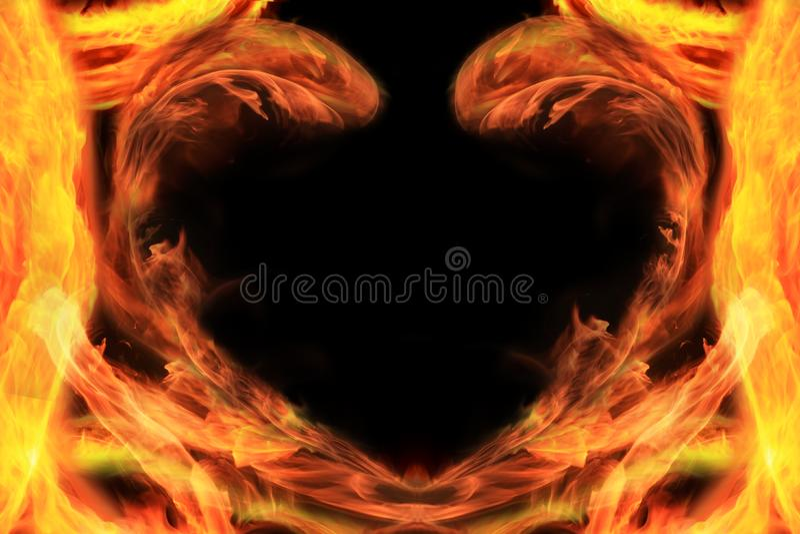 Download Heart stock illustration. Illustration of magic, glow - 8302113