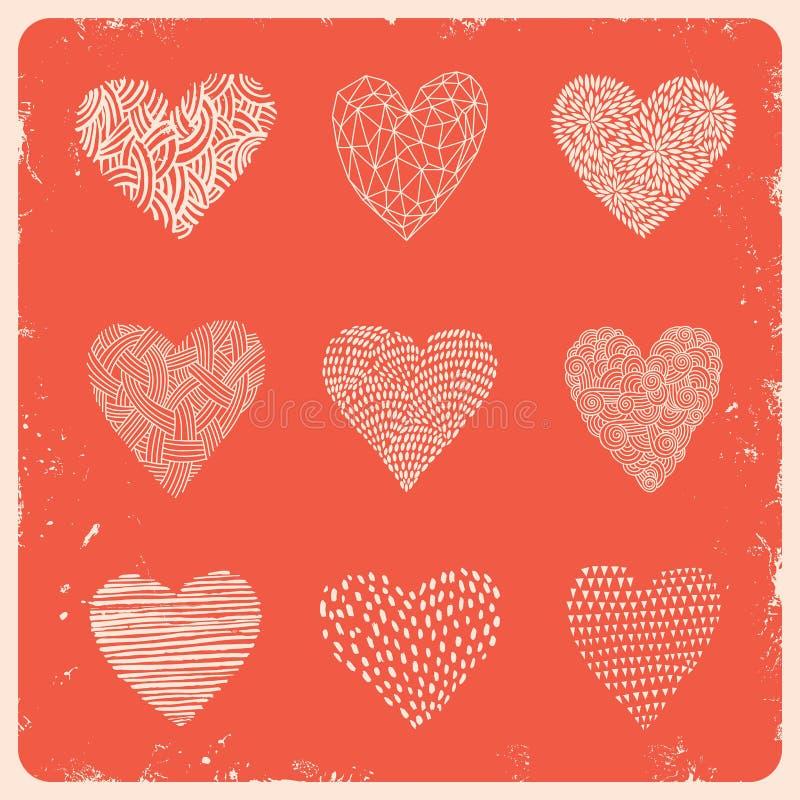 Heart11 向量例证