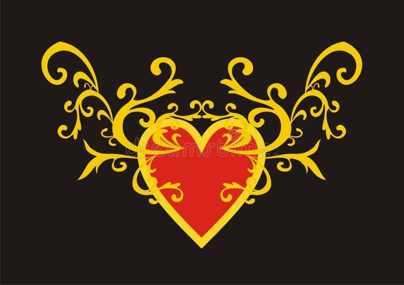 Heart stock illustration