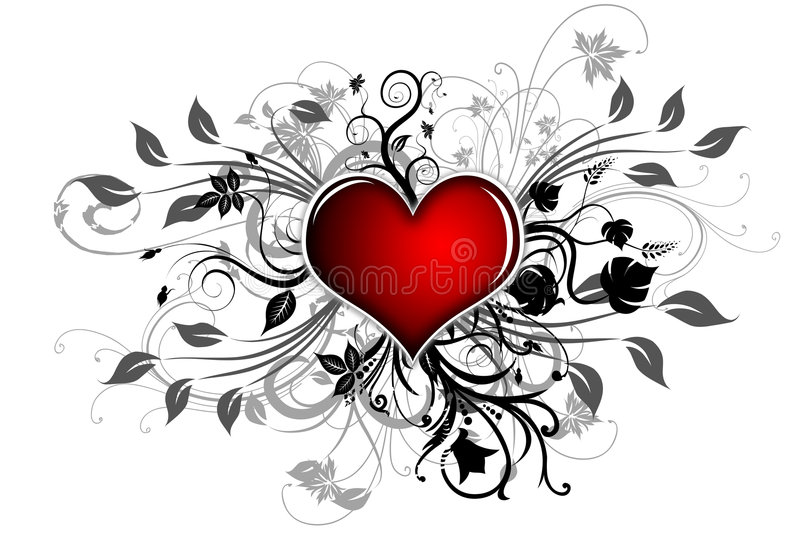 Download Heart stock illustration. Illustration of love, circle - 8605473