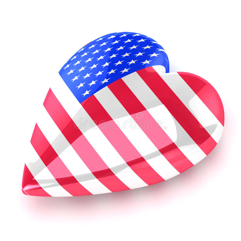 Download Heart America Royalty Free Stock Images - Image: 19393279