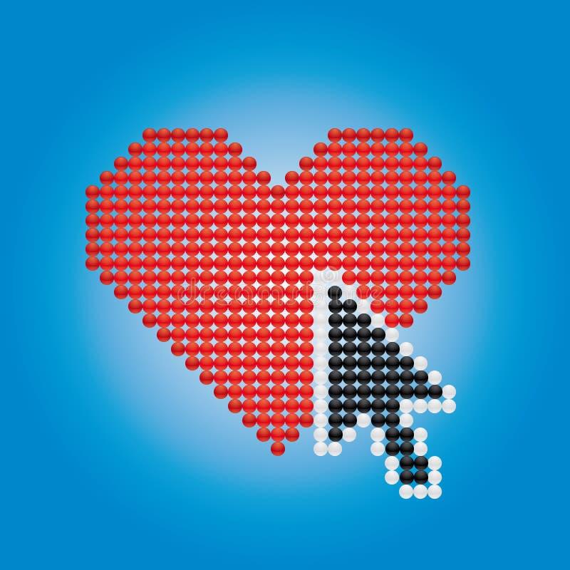 Free Heart And Arrow Stock Image - 10969381