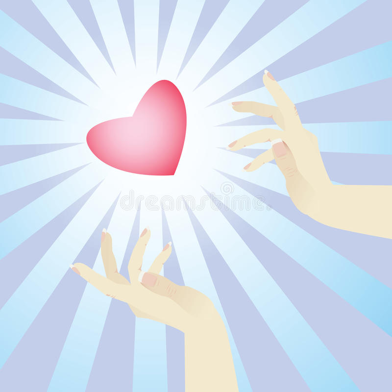 Free Heart And Hands Stock Photography - 12983332