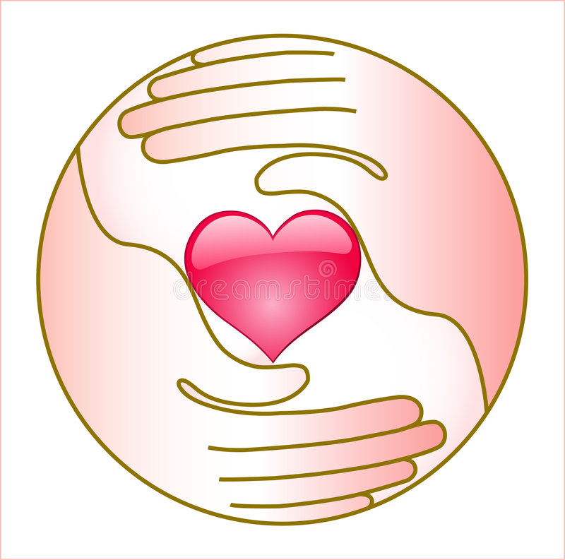 Free Heart And Hands Stock Photography - 4218212