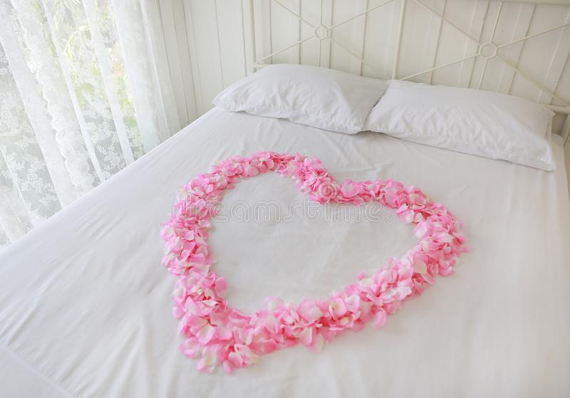 634 Heart Rose Petals Bed Photos Free Royalty Free Stock Photos From Dreamstime