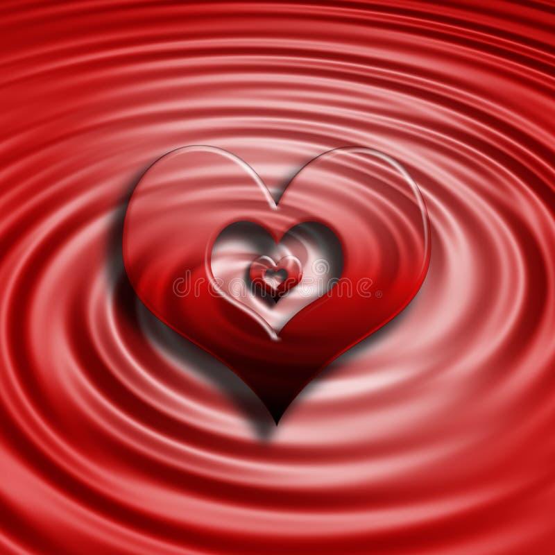 Download Heart background stock illustration. Illustration of valentine - 113805