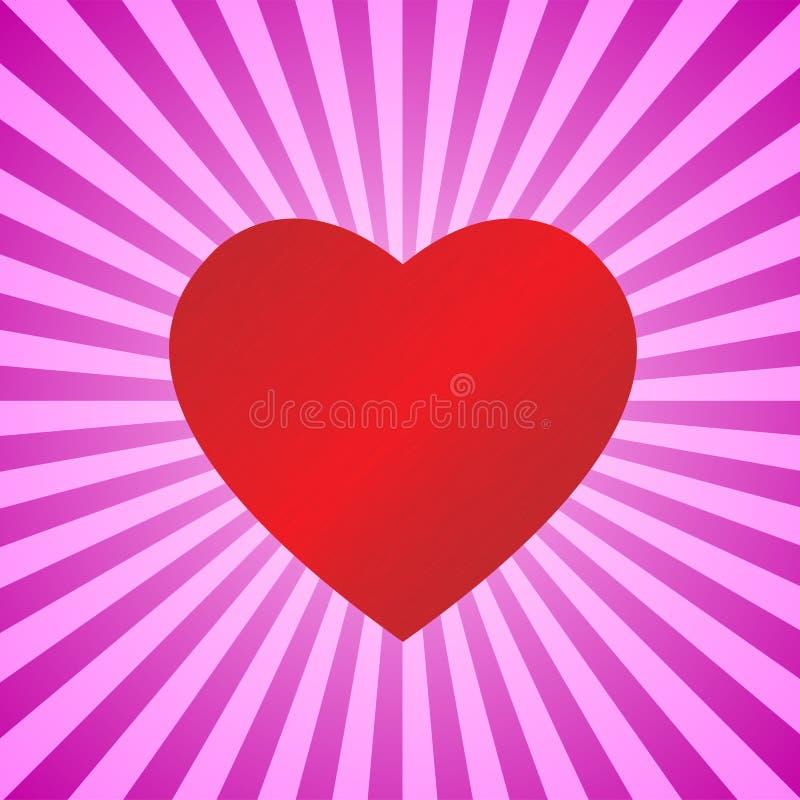 Heart On Background Stock Image