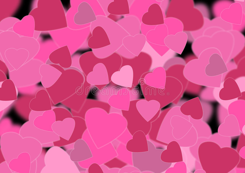 Download Heart background stock illustration. Image of glowing - 3765670