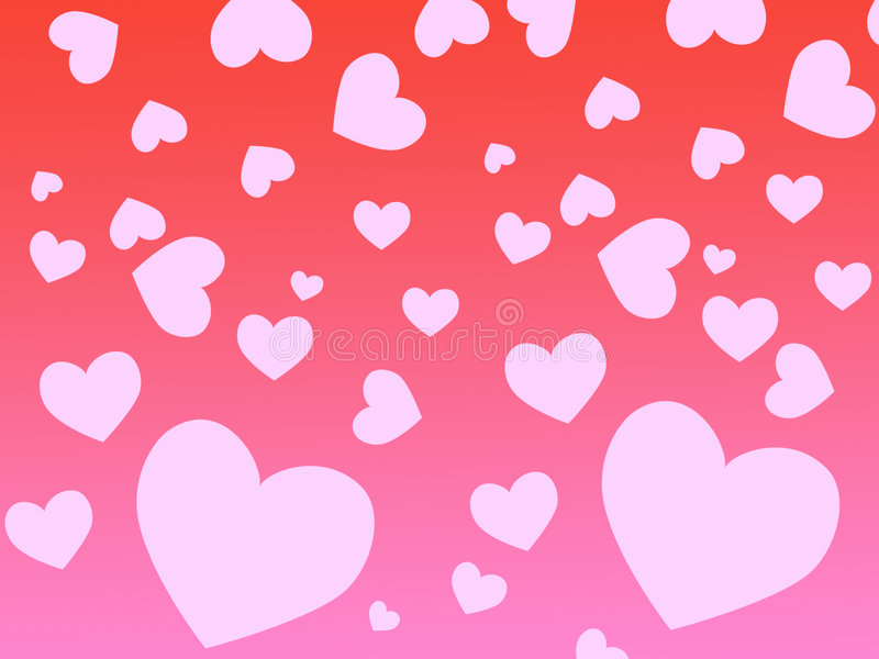 Download Heart background stock illustration. Image of creation - 3932363