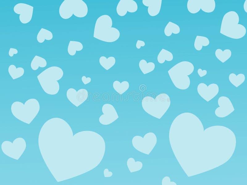 Download Heart background stock illustration. Image of valentine - 3932366