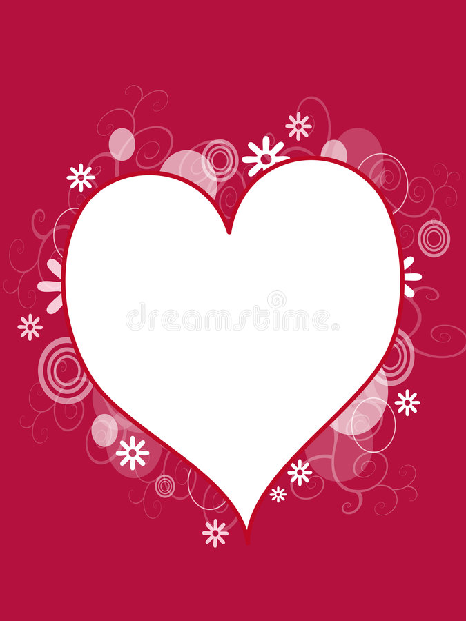 Free Heart Background Royalty Free Stock Photo - 7255095